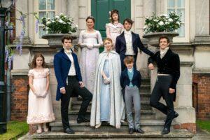 Personerne er alle en del af Familien Bridgerton