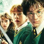 Harry potter og hans to venner Ron og Hermione
