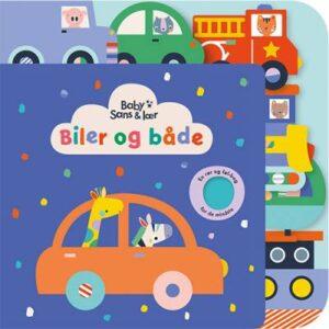 Billede af en masse farverige baby biler og dyr